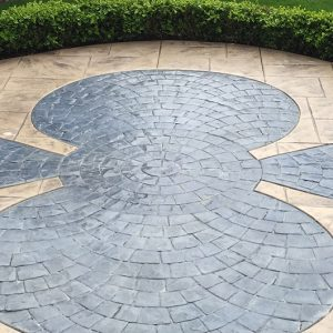 stamped concrete colors