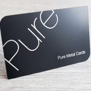 best metal business cards